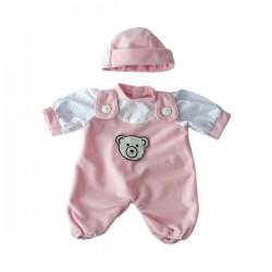 Costumas roz papusi 21 cm - Miniland