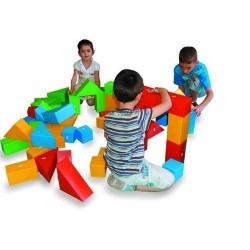Set de construit mare 30 piese King Kids