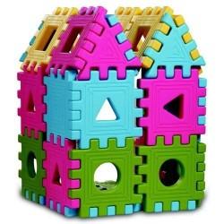 Puzzle 3D cu Forme