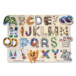 Puzzle Alfabet Art Melissa and Doug