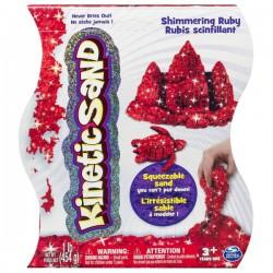 Nisip Kinetic Perla Rosu 454 g - Kinetic Sand