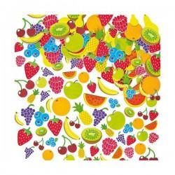 Autocolante din spuma Fructe - Baker Ross