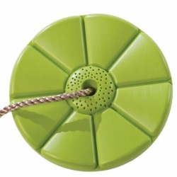 Leagan rotund din plastic PP verde
