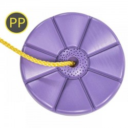 Leagan rotund din plastic PP lila