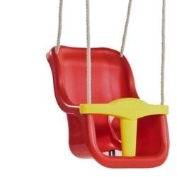 Leagan pentru copii Luxe PP rosu galben