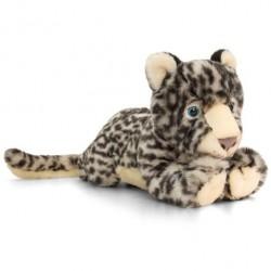 Snow Leopard de plus 33 cm Keel Toys