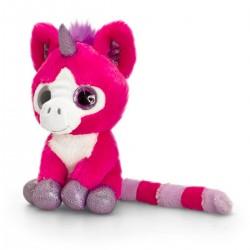 Unicorn de plus Ciclame cu ochi stralucitori 14 cm Keel Toys