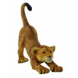 Figurina Pui de leu care se intainde S Collecta