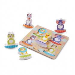 Puzzle bebe Safari Balance Melissa and Doug
