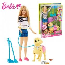 Barbie - Papusa Barbie cu catel de companie