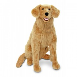 Melissa and Doug - Golden Retriever gigant din plus