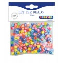 Set 300 de margele colorate cu litere - Playbox