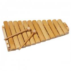 Xilofon din lemn cu 12 tonuri - Goki