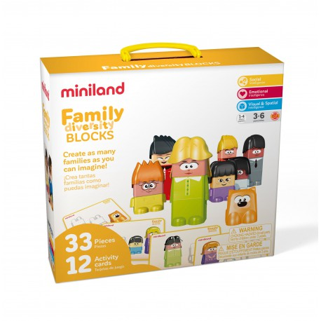 Joc de construit Family Diversity New