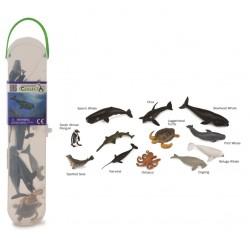 Cutie cu 12 minifigurine Animale marine Set 2