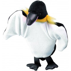 Papusa de mana Pinguin Beleduc