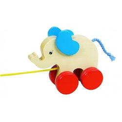 Elefant pe rotiţe