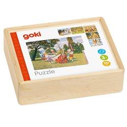 Puzzle cuburi Povestile Copilariei