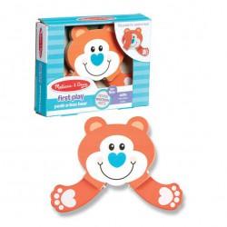 Jucarie pentru bebe Ursulet Cucu-Bau