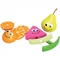 Set jucarii senzoriale Fructele Prietenoase