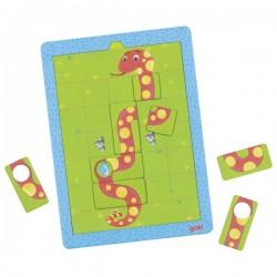 Puzzle magnetic cu provocari Serpisorul mancacios