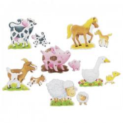 Primele mele puzzleuri cu Animale de la ferma