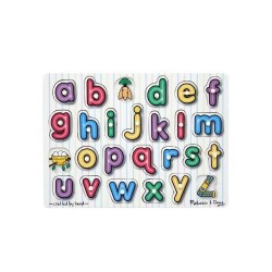 Puzzle lemn Alfabet Melissa and Doug