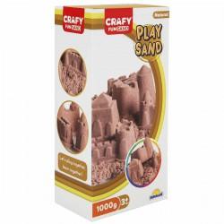 Nisip pentru modelaj Fun Sand 1000 gr culoare Natur
