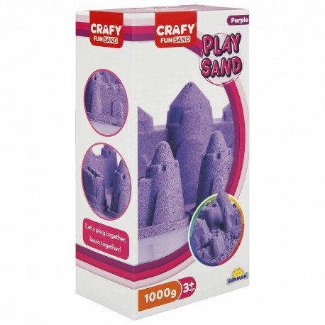 Nisip kinetic Fun Sand 1000 gr culoare Mov