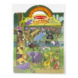 Abtibilduri pufoase - Safari