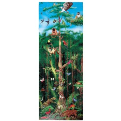 Melissa and Doug - Puzzle de podea Padurea Tropicala 100 pcs