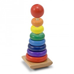 Piramida Curcubeu Melissa and Doug