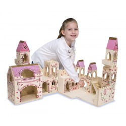 Melissa and Doug - Castelul Printesei (pliabil)