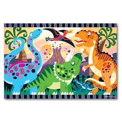 Melissa and Doug - Puzzle de podea Inceputurile dinozaurilor