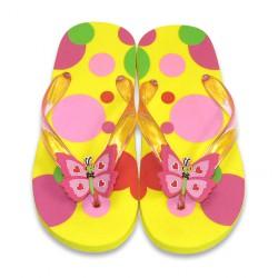 Papuci de baie sau plaja copii Bella Butterfly Melissa and Doug mas 22-23