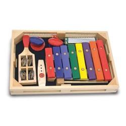 Melissa & Doug - Set instrumente muzicale incepatori