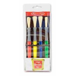 Set 4 pensule groase Melissa and Doug