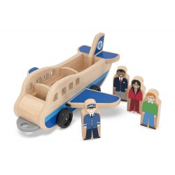 Set de joaca din lemn Aeroport Melissa and Doug