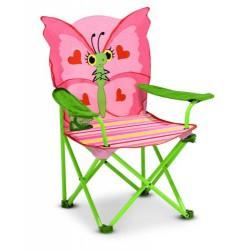 Scaun pliabil pentru copii Bella Butterfly Melissa and Doug