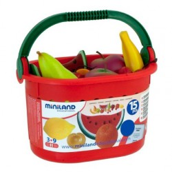 Cos cu fructe Miniland