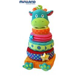 Piramida pentru bebelusi Dragy Miniland