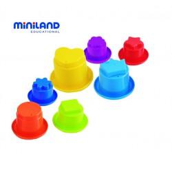 Piramida din cupe pentru bebelusi Miniland