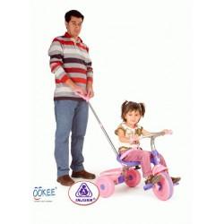 Tricicleta Trike Classic Pink Injusa