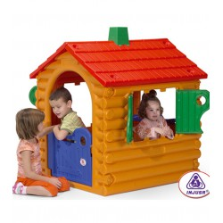 Casuta copii The Hut Truncs Injusa