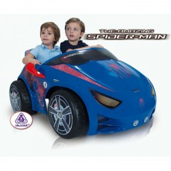 Masinuta electrica EVO Spiderman 12 V Injusa