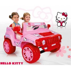 Masinuta electrica copii Hello Kitty 12 v Injusa