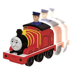 Locomotiva James cu conductor Thomas and Friends Fisher Price