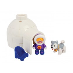 Set de joaca Polar Iglu First Friends Tolo