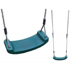 Leagan copii Swing Seat Green Dunster House