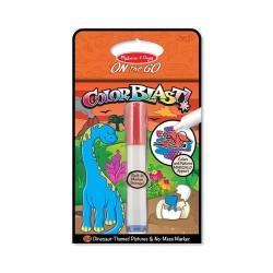 Colorblast Caiet de activitati cu dinozauri Melissa and Doug